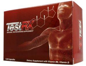 TestRX - Booster de testostérone