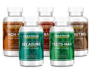 Crazybulk - Pile hormone de croissance