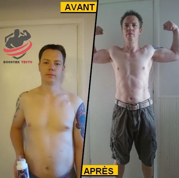 Anvarol - Transformation avant et après