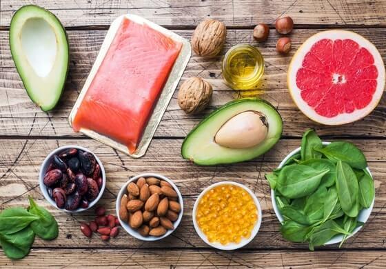 Les aliments contenants des bonnes graisses
